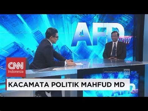 Md Kacamata kacamata politik mahfud md afd now