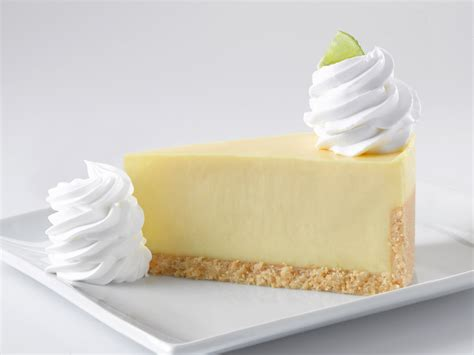 Lime Cheese Slice the cheesecake factory