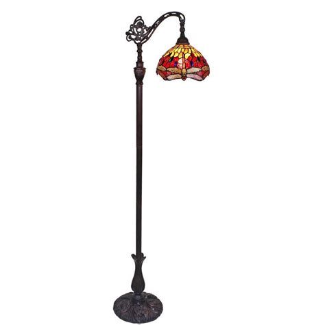 amora lighting tiffany l amora lighting 62 in tiffany style dragonfly reading