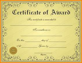free certificate templates 4 paper awards certificates free sle of invoice