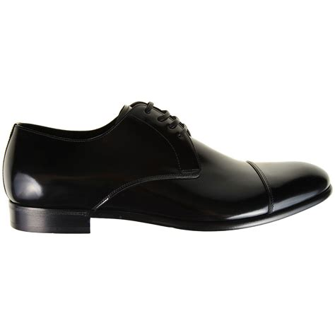 new dolce gabbana lace ups black shoes for