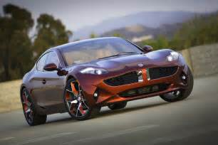 Electric Car Fisker Fisker Automotive Unveils The All New Fisker Atlantic In
