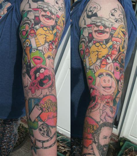 tattoo shops in waldorf muppet show sleeve by jinxiejinx13 on deviantart