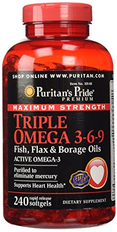 Puritan S Pride Maximum Strength Omega 3 6 9 2 Murah top best 5 fish strength for sale 2016 product boomsbeat