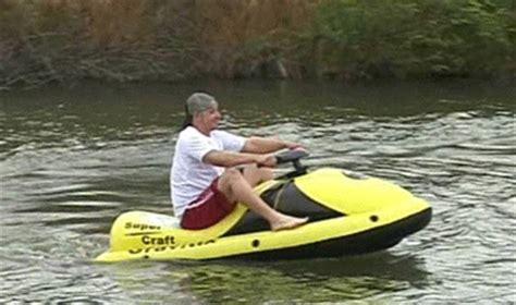 kayak with jet ski motor wavebreaker the electric jet ski