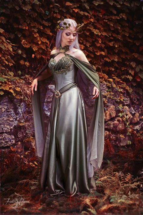 Dress Elven by Elven Dress By Firefly Path On Deviantart