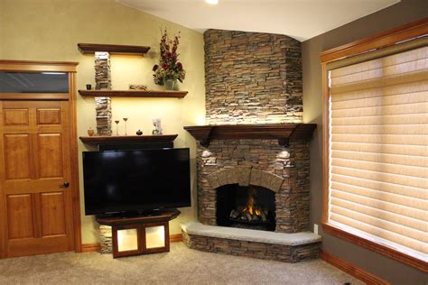 fireplace panels stunning stacked fireplace build creative faux panels
