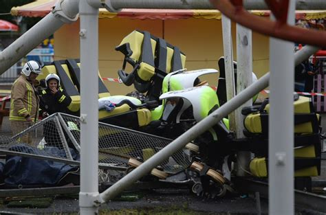 theme park uk accidents scottish roller coaster derails mid ride sends a whole