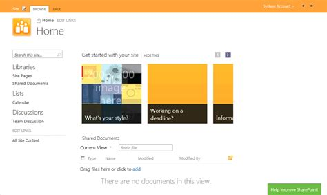 sharepoint 2013 site templates free sharepoint 15 sharepoint 2013 screenshots cameron