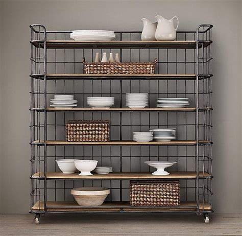 Industrial Bakers Rack by 71 Quot Circa 1900 Baker S Rack I Restoration Hardware