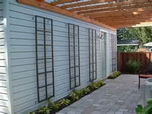 Modern Trellis Modern Trellis Yard Ideas Pinterest