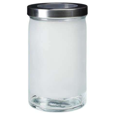 ikea vorratsdose droppar glas edelstahl 5 gr 246 223 en ebay - Ikea Vorratsdosen Glas