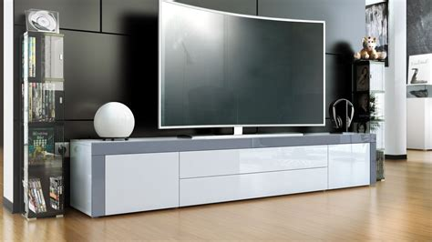 tv lowboard modern tv stand board unit lowboard cabinet la paz white high