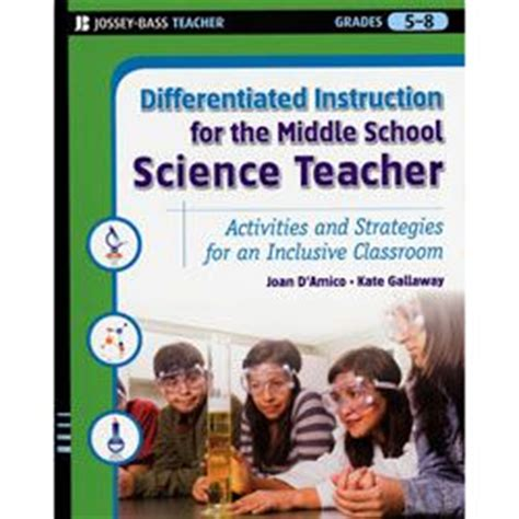 new strategies for teaching middle school health differentiated instruction for the middle school science