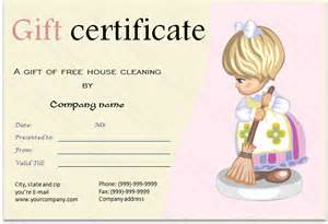 gift certificate for services template options