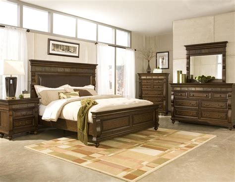 samuel lawrence bedroom furniture samuel lawrence 4 pc langdon bedroom set