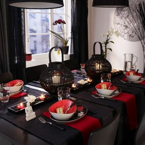 Dining Room Table Settings by Asian Table Decorations Declaration In 30 Exotic Ideas