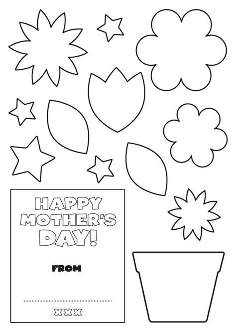 s day templates mother s day card early play templates