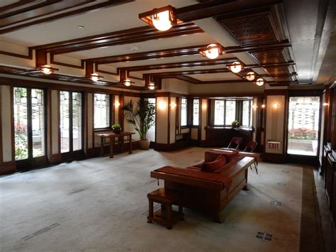 frank lloyd wright house interiors chicago in five days