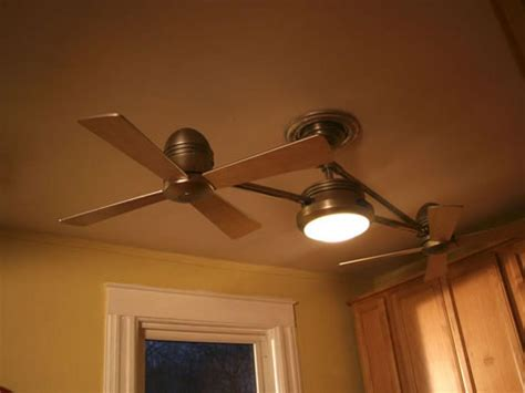 replace a ceiling fan in kitchen hgtv