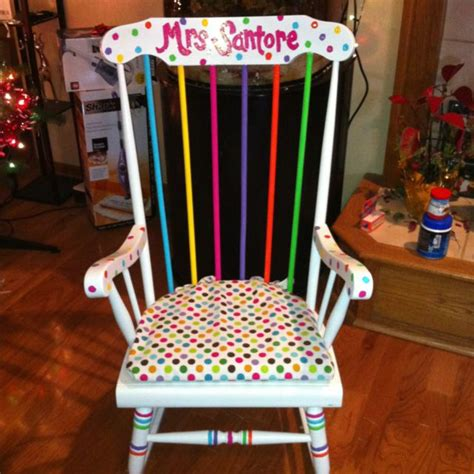 kindergarten rocking chair my rocking chair painted with
