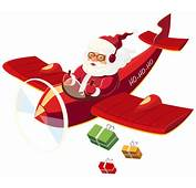Santa Claus With Plane PNG Clipart  Best WEB