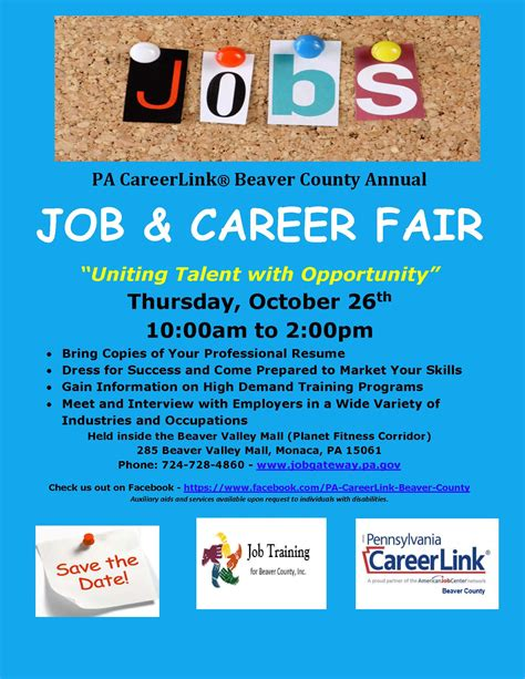 pa careerlink job fair southwest corner workforce development board pa