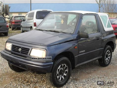 how to sell used cars 1996 suzuki x 90 seat position control 1996 suzuki vitara 4x4 convertible outdoors car photo and specs