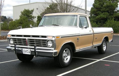 1974 Ford F100 by 1974 Ford F100 Ranger Xlt Truck