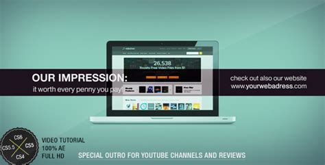 After Effects Project Videohive Advertisement Package 3042849 Adobe After Effects Outro Template