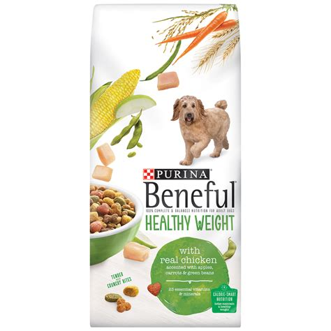 healthy puppy food buy beneful food healthy weight w real chicken bag 1 59kg at countdown