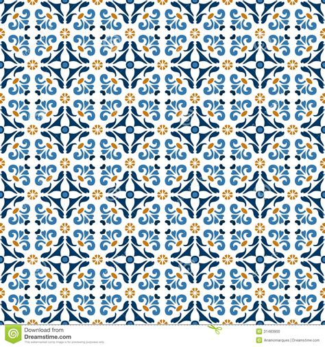 flower pattern tiles old floral tiles stock vector image of cover