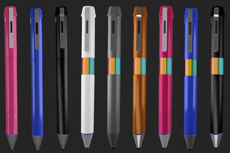 any color scribble stylus and pen can reproduce any color digital