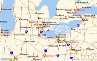 map of michigan and ontario canada map of michigan and ontario canada michigan map
