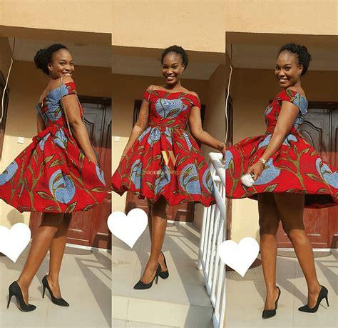 latest skirt and blouse fashion styles 100 pictures latest ankara fashion 100 super cute ankara skater dress