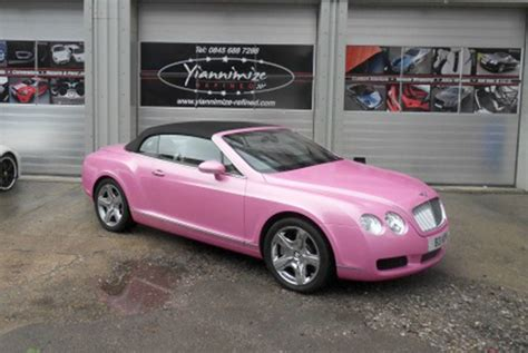 metallic pink bentley top 10 crimes against cars