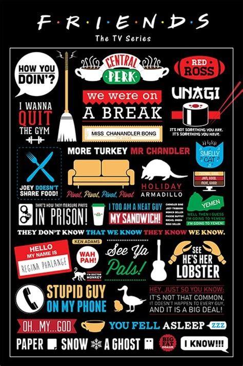 Plakat Friends by Plakat Obraz Przyjaciele Friends Infographic Kup Na