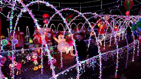 stewart family christmas light display 2016 package youtube