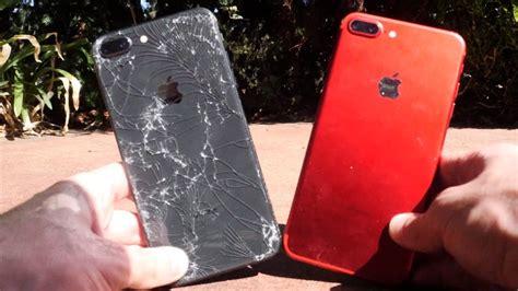 iphone 8 plus vs 7 plus drop test
