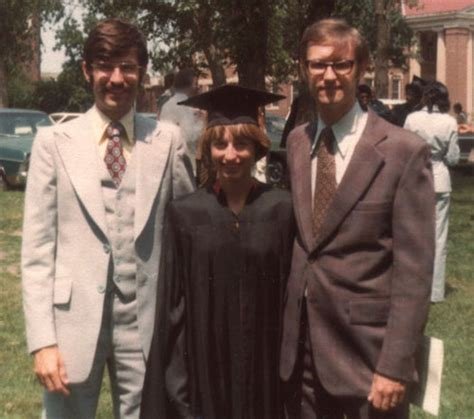 Magna Laude From Brown Hbs Mba Distinction by Nancy Gast Riss At Graduation 1977 Observing Thinking