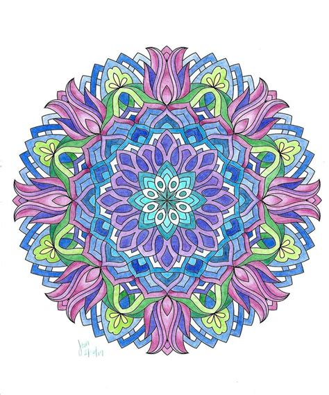 mandala coloring book markers 15309 best images about ॐ mandalas y m 193 s ॐ on
