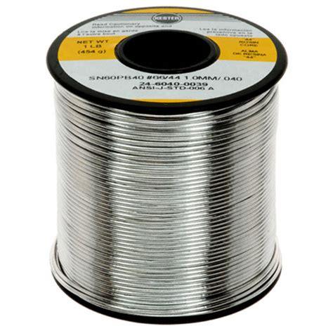 Timah Solder 24 6040 0039 kester solder soldering desoldering rework products digikey