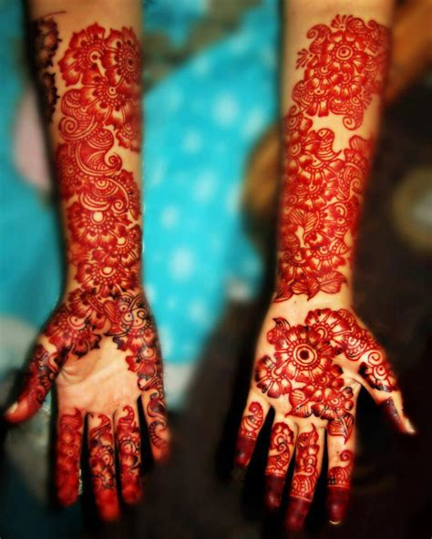 hand mehndi designs for front and back lady s art club eleven designs of bridal mehndi for full
