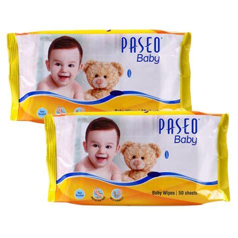 Baby Wipes Tissue Basah Bayi 1 1 paseo baby wipes 50 s tissue basah elevenia