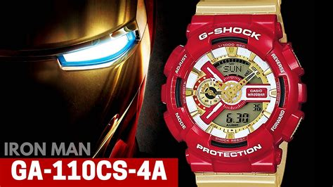 G Shock Ironman casio g shock ironman ga 110cs 4a colors limited