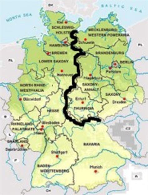 map of east germany the east germany is wunderbar