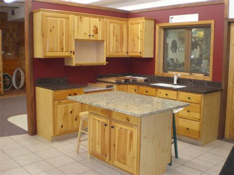 kitchen floor and counter tops with pine cabinets kitchen furniture rustic holic accent kitchen with knotty wood