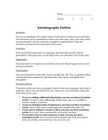 Biography Essay Template by Best Photos Of Biography Outline Template Personal Biography Template Outline