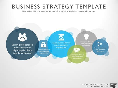 Business Strategy Template by Business Strategy Template Powerpoint Choice Image