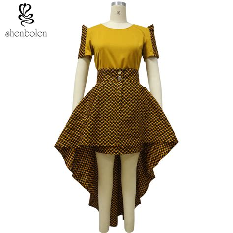 batik dress design in bd new design women africa printed batik cotton party dresses